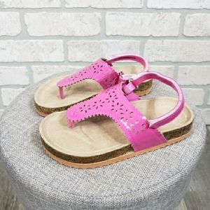 SWIGGLES Thong T-Strap Sandals Size 10 Toddler
